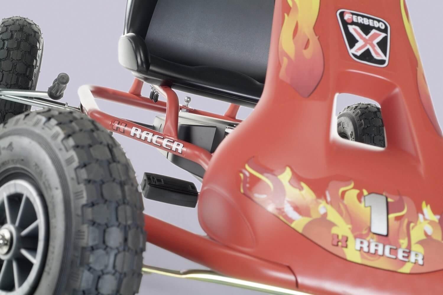 FERBEDO Air Runner - Modell Fire - Kauftipp bei gokart-profi.de Gokart für Kinder 3 bis 8 Jahre