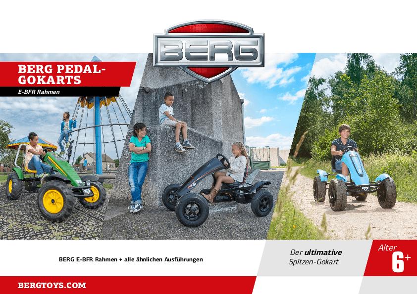 BERG E-BFR Gokarts beim Kettcar Lagerverkauf am 07.09.2019 - gokart-profi.de