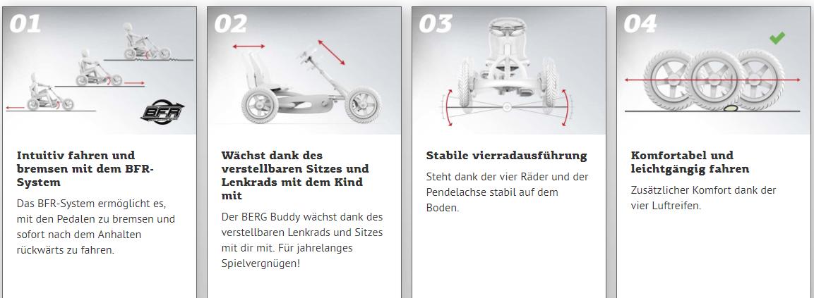 BERG Buddy Neuheiten - alle Informationen auf gokart-profi.de