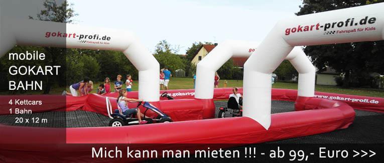Ihr Event wird toll mit unserer MOBILEN GOKARTBAHN - gokart-profi.de
