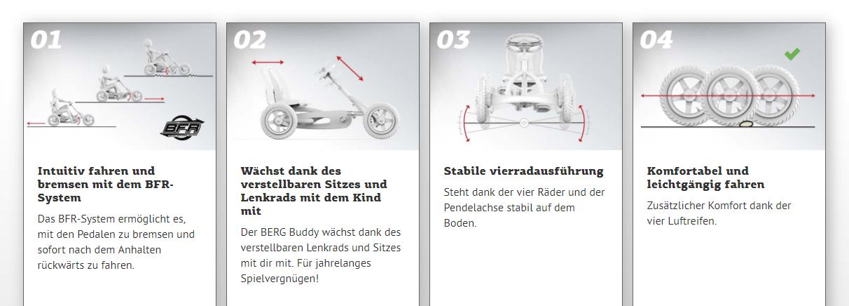BERG Buddy - alle Vorteile im Überblick - gokart-profi.de