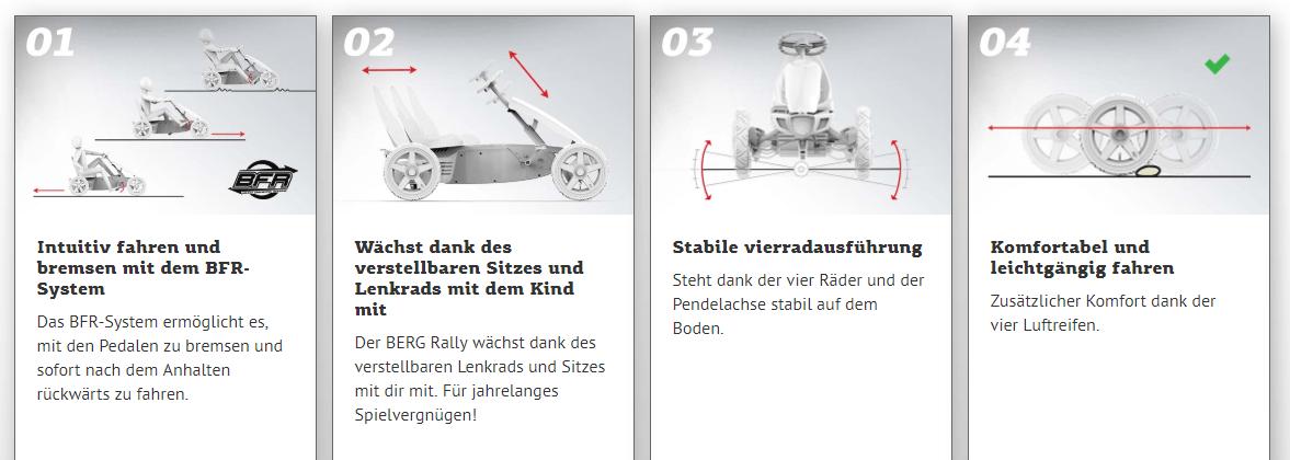 BERG Rally - alle Vorteile - gokart-profi.de Fachberatung
