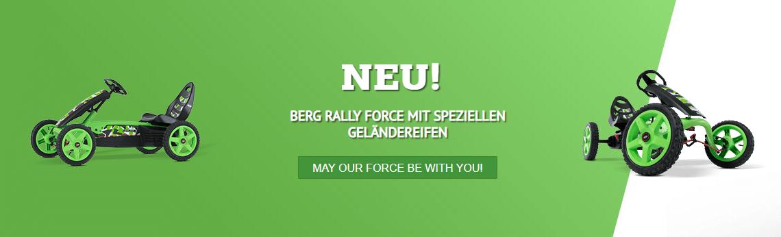 BERG Rally Force - Top Modell bei gokart-profi.de