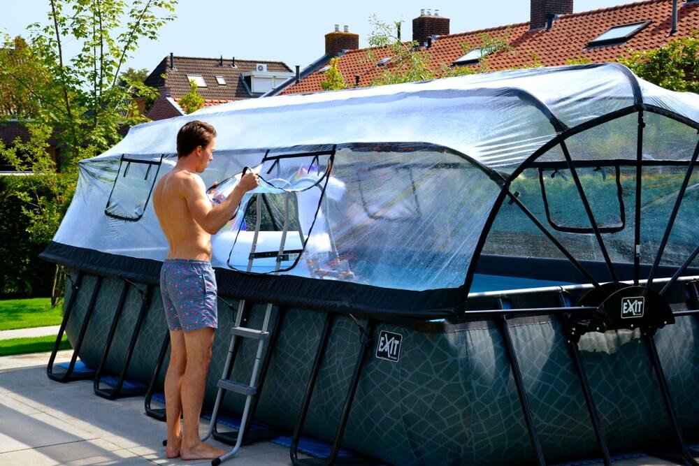 EXIT-Swimming-Pool-Sonnendach-ZUBEHOeR - kaufen auf spiel-preis.de