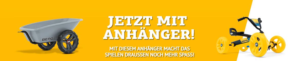 BERG Buzzy mit Anhänger Trailer S - kaufen auf gokart-profi.de