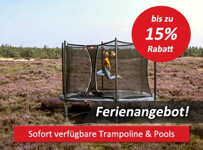 Ferienangebote Trampoline & Pools auf spiel-preis.de