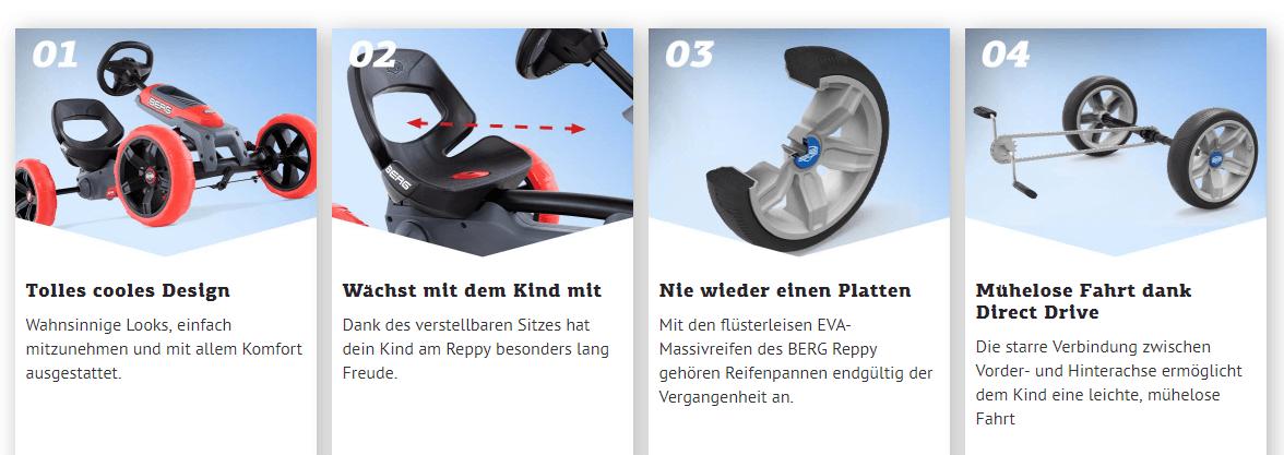 """BERG Reppy – der coole """"BERG"""" zum Top-Preis gokart-profi.de"""