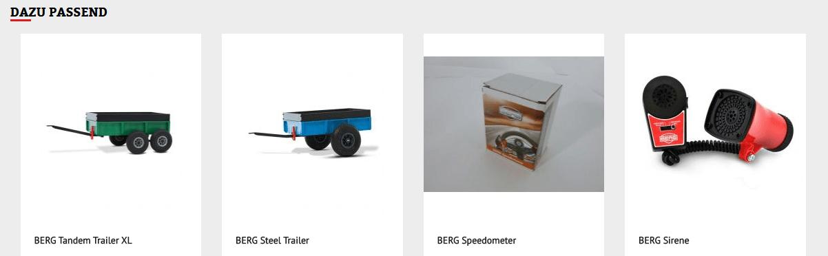 BERG Original Gokart Zubehör kaufen auf gokart-profi.de