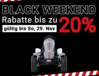 Black Weekend auf gokart-profi.de - bis 29.11.2020
