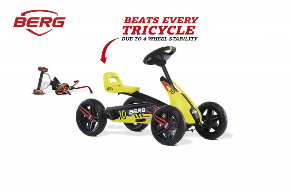 BERG Buzzy Aero - die neue Generation Dreirad - kaufen auf gokart-profi.de