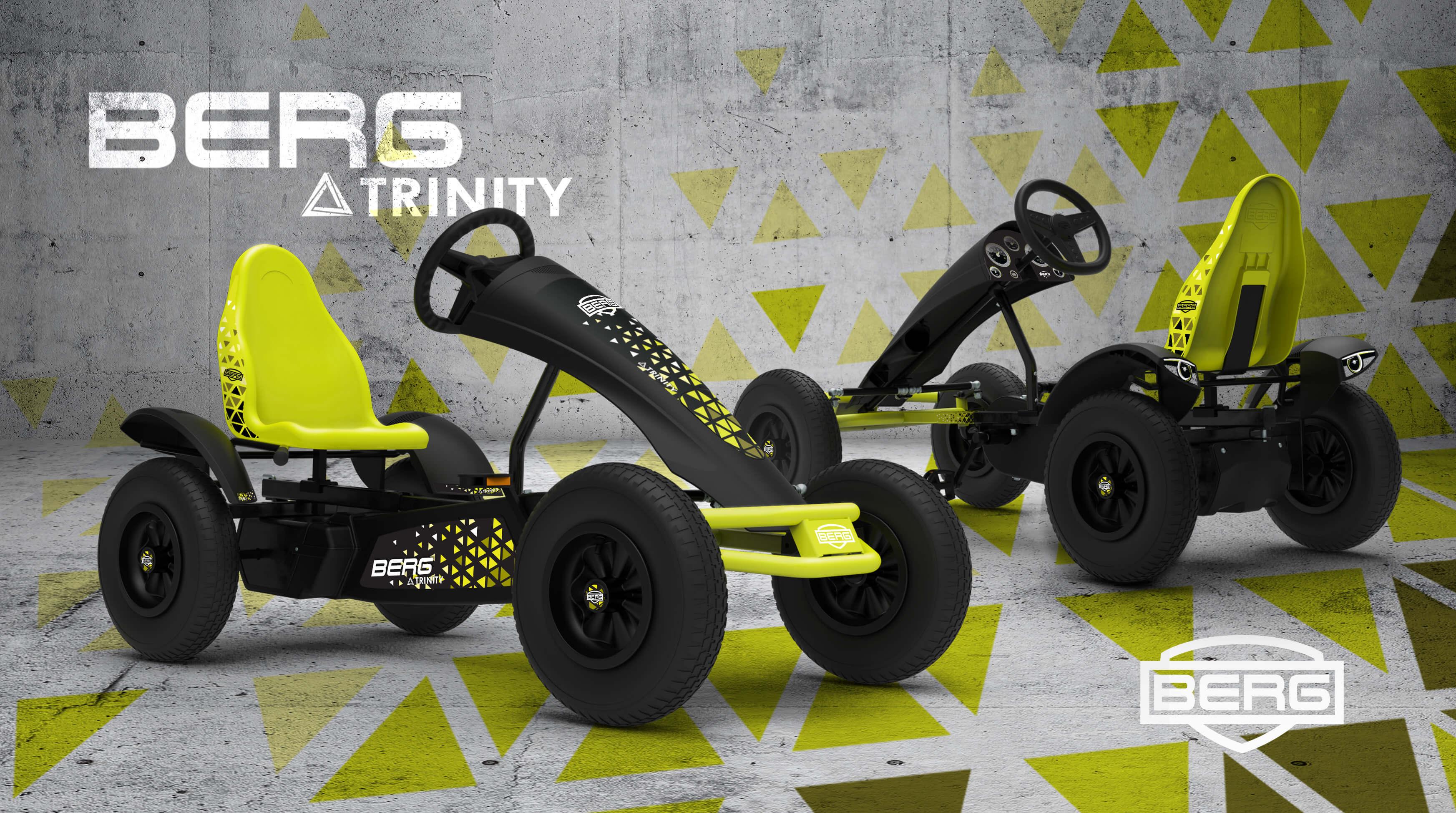 BERG Gokart Sondermodell: Berg Trinity BFR/BFR-3 - kaufen auf gokart-profi.de