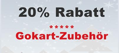 Black Weekend 20 auch beim GOKART ZUBEHÖR auf gokart-profi.de