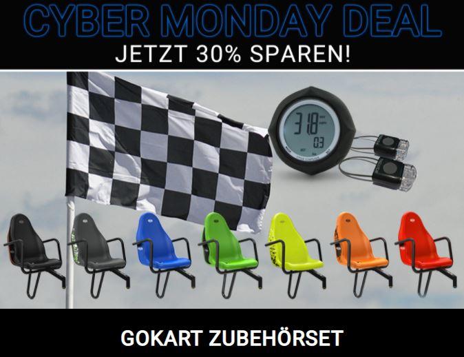 CYBER MONDAY Top Deal bei gokart-profi.de - Gokart Zubehörset