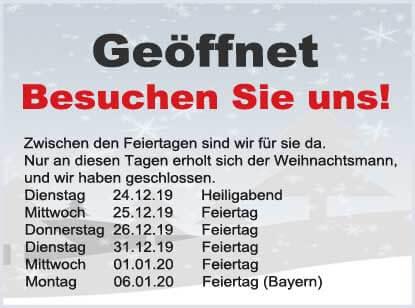 Öffnungszeiten gokart-profi.de Weihnachten