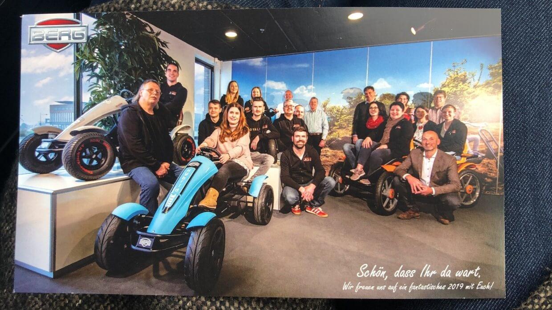 GOKART PROFI Team unterwegs bei BERG Toys und EXIT Toys in den Niederlanden - Jahresrückblick 2019