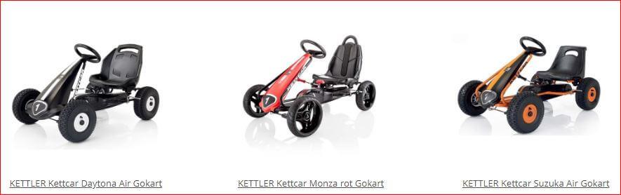 Original Kettcar Modelle für Kinder 3 - 8 Jahre - gokart-profi.de