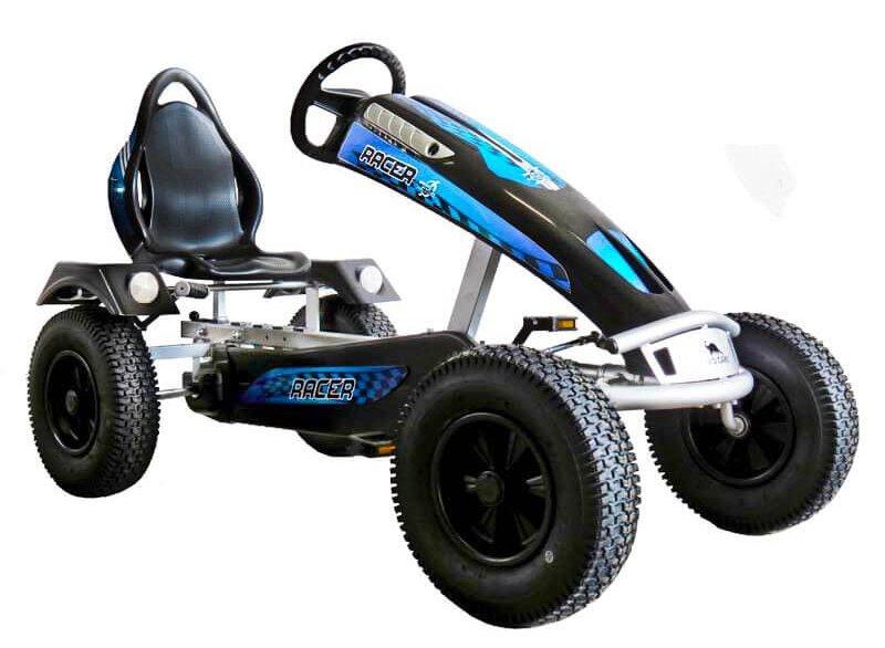 DINO CARS Silver Racer - exklusives Sondermodell auf gokart-profi.de