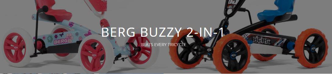 BERG Buzzy 2in1: besser als jedes Dreirad - gokart-profi.de