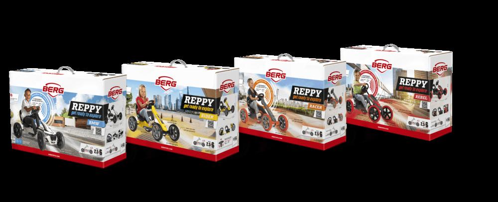 BERG Reppy Kollektion - Neu bei gokart-profi.de