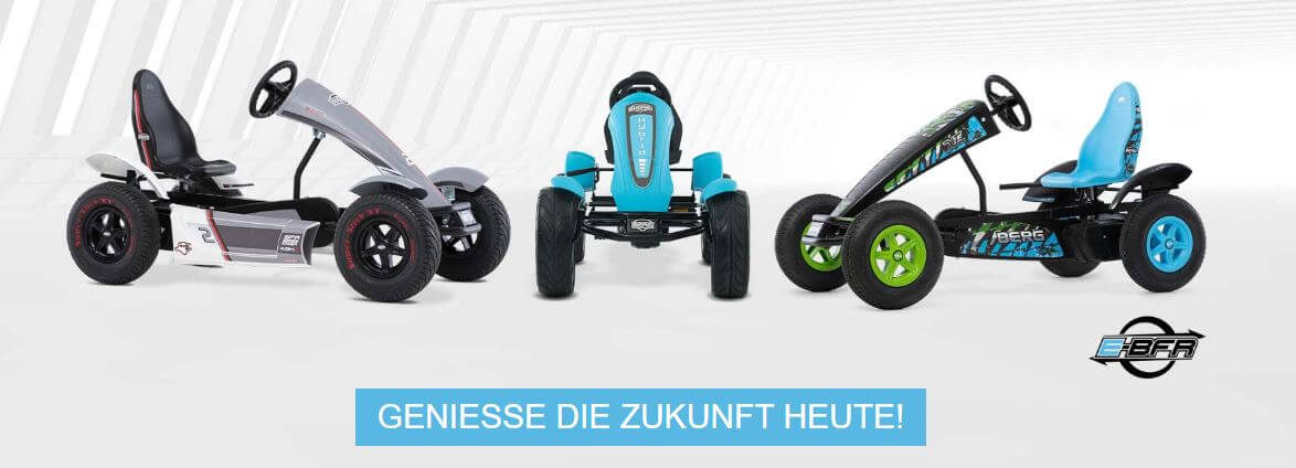 BERG E-BFR Fahrzeuge - jetzt Probe fahren bei gokart-profi.de Burgthann
