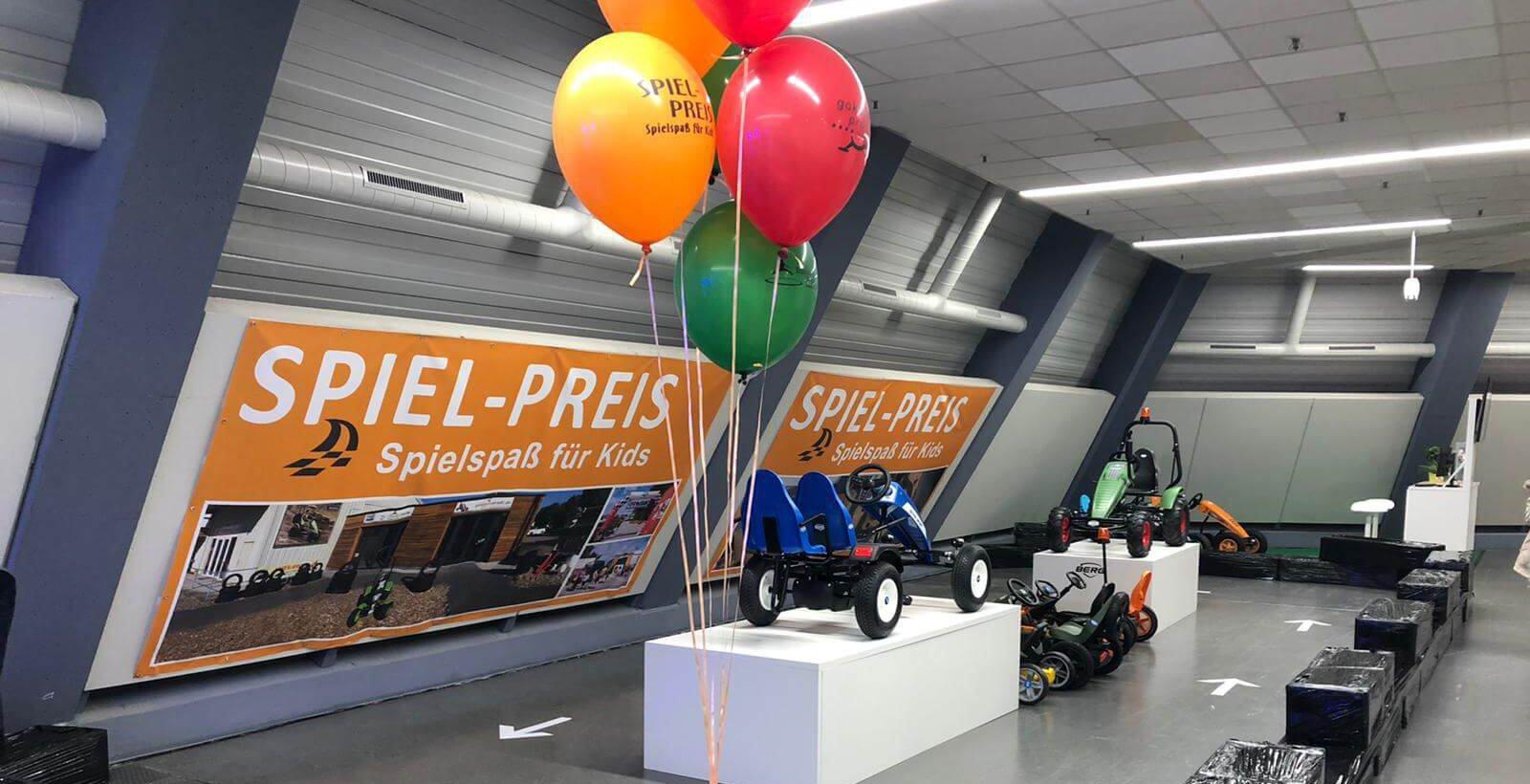 Rückblick Freizeitmesse - Messestand gokart-profi.de