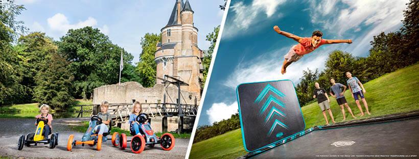 Fahrspaß und Springspaß bestellen auf gokart-profi.de und trampolin-profi.de