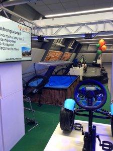 Rückblick Freizeitmesse 2020 - Messestand gokart-profi.de