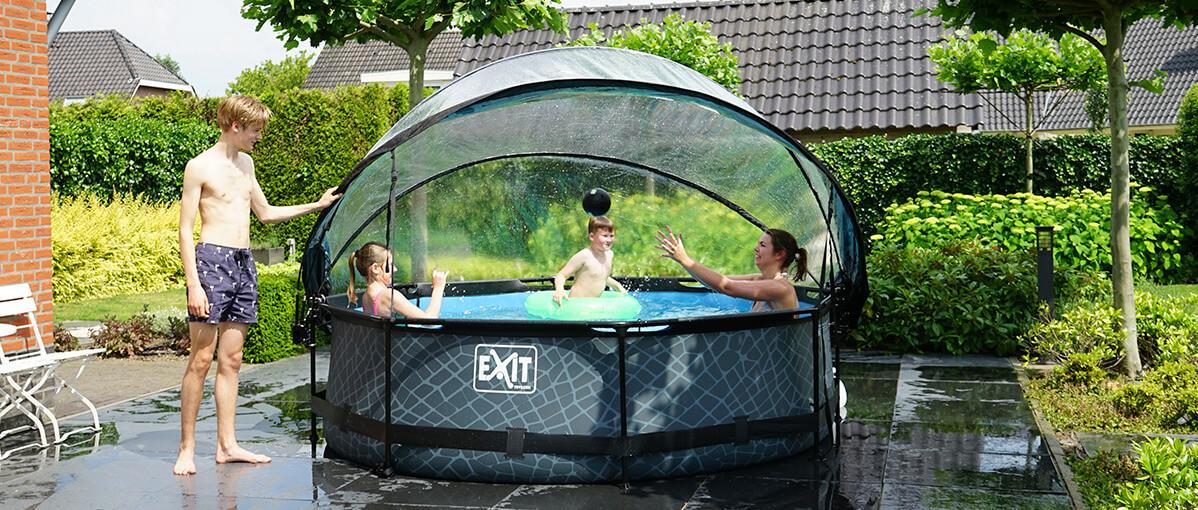Gartenpool - machen Sie Ihren Garten sommerfit - jetzt bestellen auf spiel-preis.de