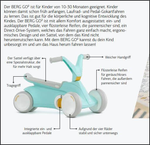 Ratgeber - Erklärung Begriff Direct Drive - Beispiel BERG Go2 - gokart-profi.de