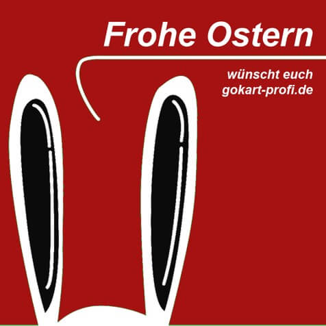 Frohe Ostern von gokart-profi.de