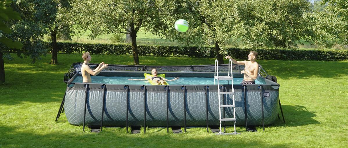 Urlaub Zuhause? Mit Pool wird der Garten zum Urlaubsort - EXIT Pool Beratung - gokart-profi.de - spiel-preis.de