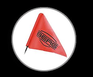 Pimp your Pedal-Gokart mit GOKART PROFI - Licht und Fahnen