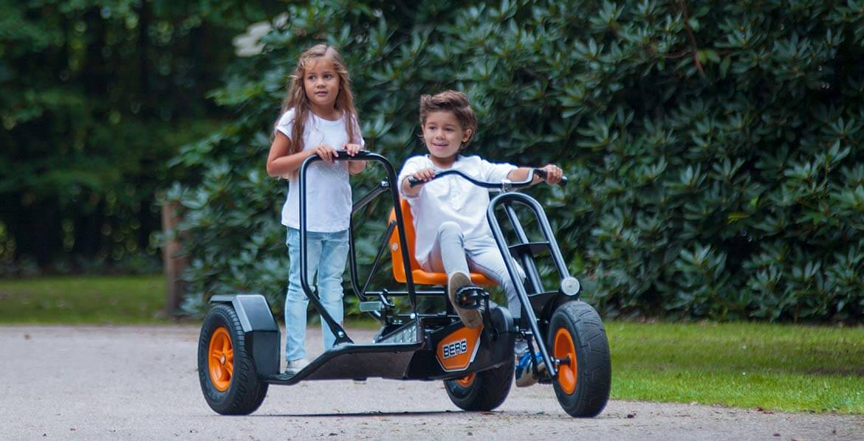 BERG Gokart Duo Chopper BF Tricycle - BERG-Pedal-Gokart Themenpakete Übersicht - gokart-profi.de