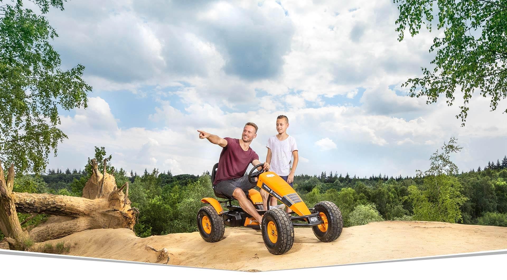 BERG-Pedal-Gokart Themenpakete Übersicht - E-BFR-Gokarts kaufen auf gokart-profi.de