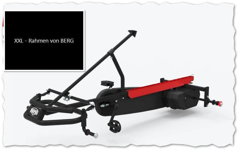 XXL-Rahmen von BERG im Elektro Gokart bereits inklusive - gokart-profi.de