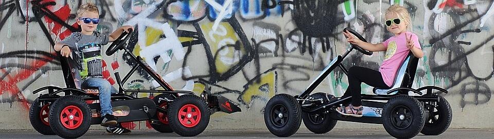 DINO CARS KIDS LINE - Speedy + Junior Gokart für Kids ab 3 - gokart-profi.de