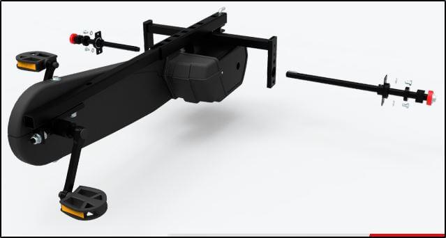 Montage BERG XXL-BFR Rahmen - gokart-profi.de
