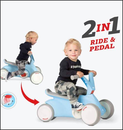 Laufrad- und Pedal-Gokart-Fahren auf dem BERG Go2 - Beratung + Verkauf gokart-profi.de