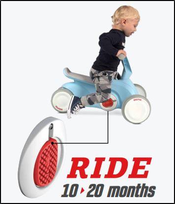 Laufrad fahren auf dem BERG Go² = Fit für die Kita - Beratung + Verkauf bei gokart-profi.de