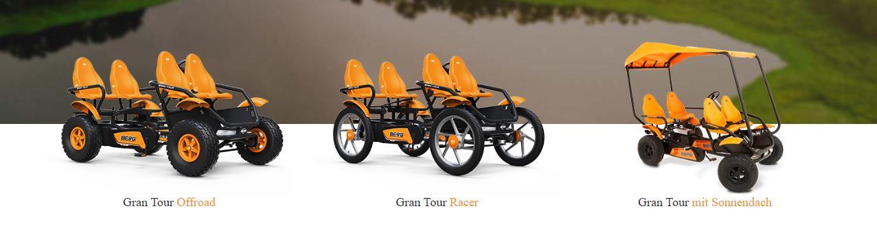 BERG Gran Tour Fahrzeuge - BERATUNG bei gokart-profi.de