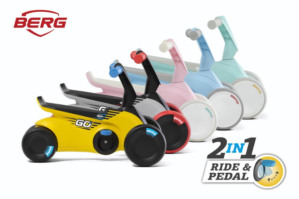 Fit für die Kita dank BERG Go2 - 2in1 - Ride & Pedal - gokart-profi.de