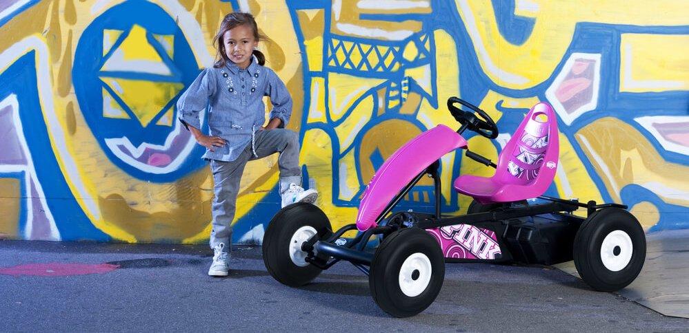 BERG Compact Pink - Beratung gokart-profi.de