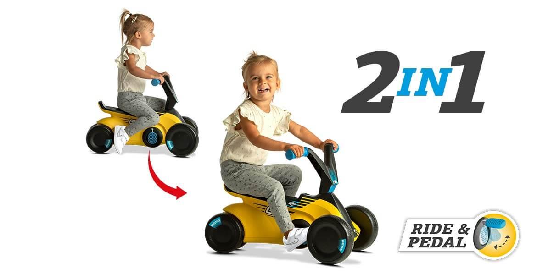 BERG Go2 SparX Yellow - das vielseitige Kinderfahrzeug - Beratung gokart-profi.de