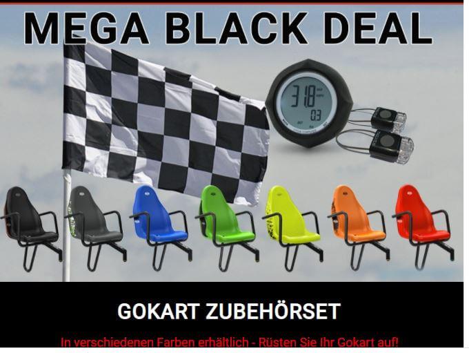 MEGA BLACK DEAL bei gokart-profi.de