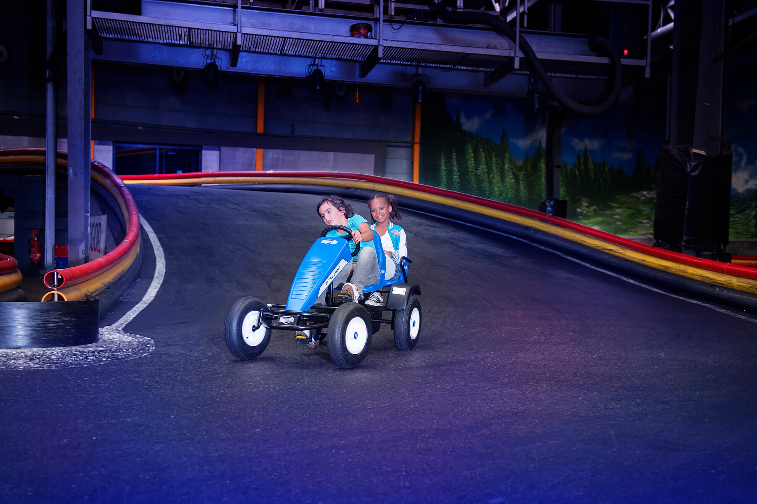 BERG Extra Sport Blau - Angebot mit Zubehör - gokart-profi.de