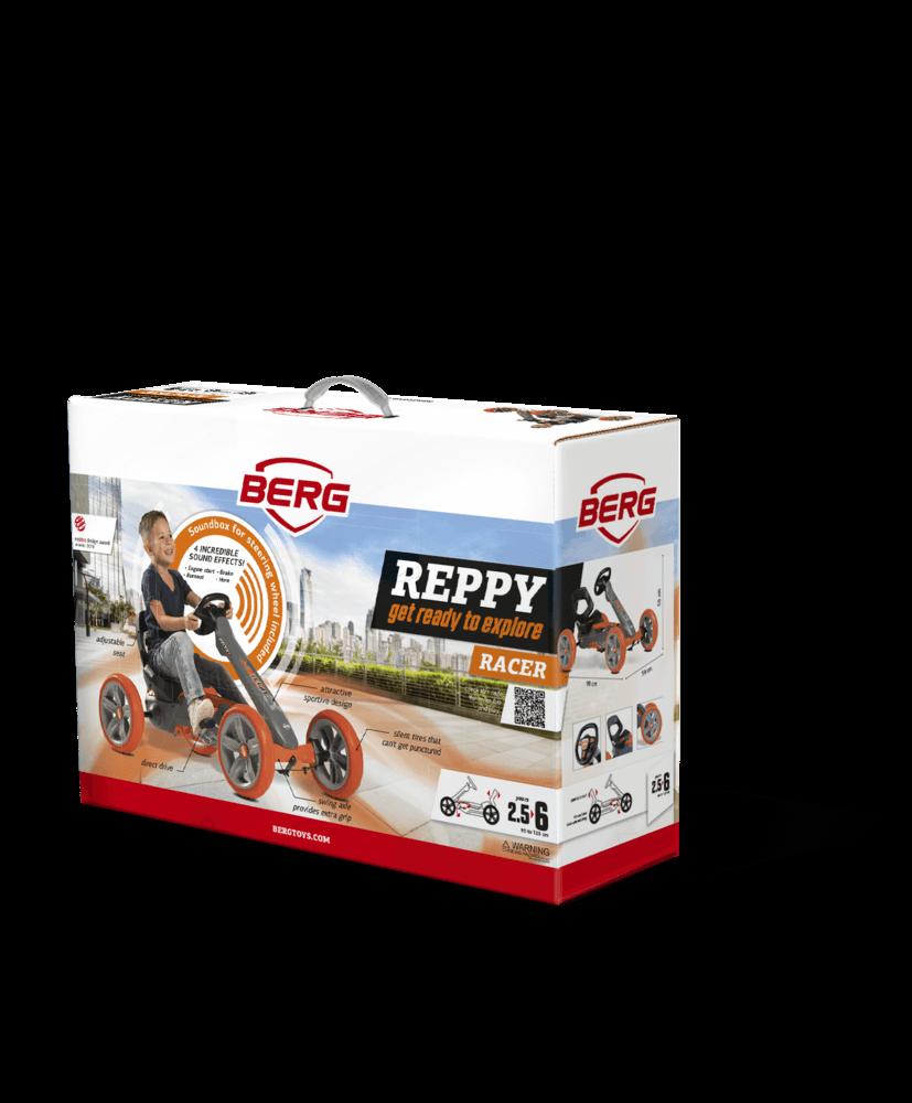 BERG Reppy Racer - kompakt verpackt - perfektes Geschenk auf gokart-profi.de