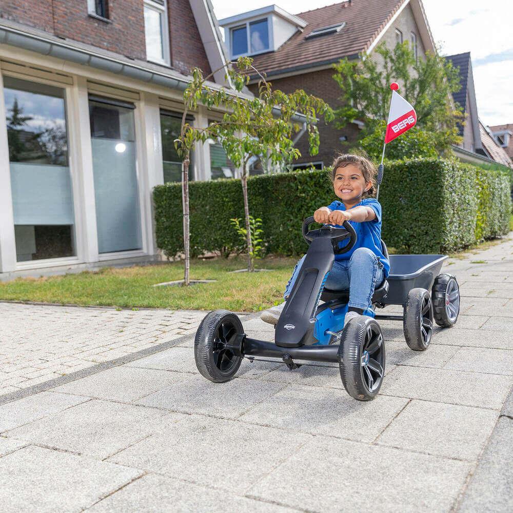 BERG Reppy - auch auf Airless-Rädern lustig unterwegs - gokart-profi.de