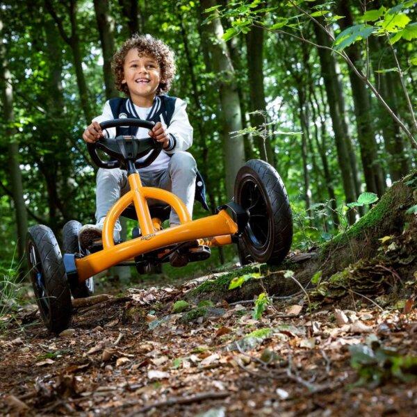 Sicher auch im Gelände - das Pedal-Gokart BERG Buddy - Ratgeber gokart-profi.de