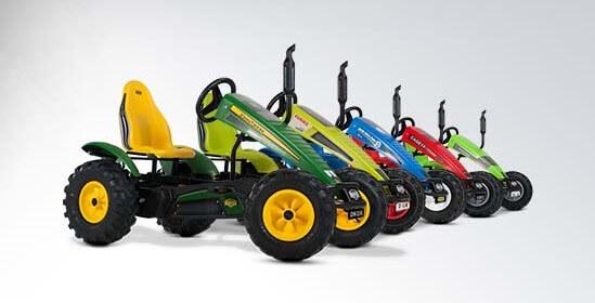 BERG Traxx Traktoren mit unterschiedlichen Marken - gokart-profi.de