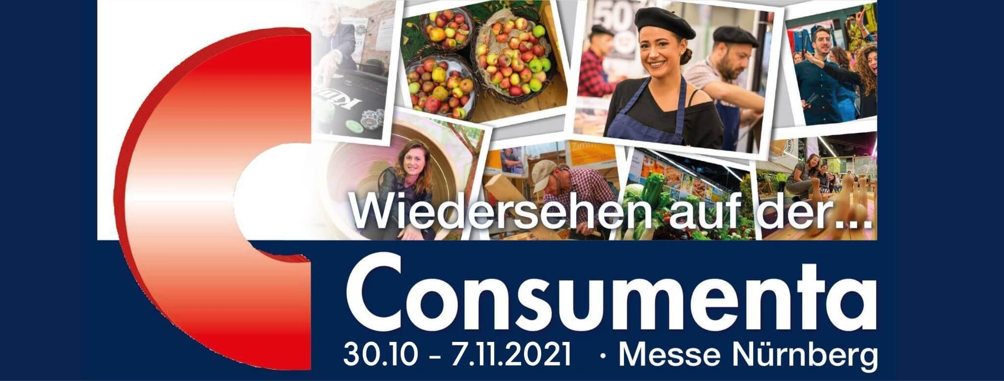 Consumenta 2021 - 30.10.2021 bis 7.11.2021 - Messe Nürnberg